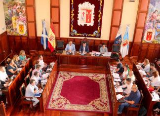 Pleno del Ayuntamiento de Los Realejos