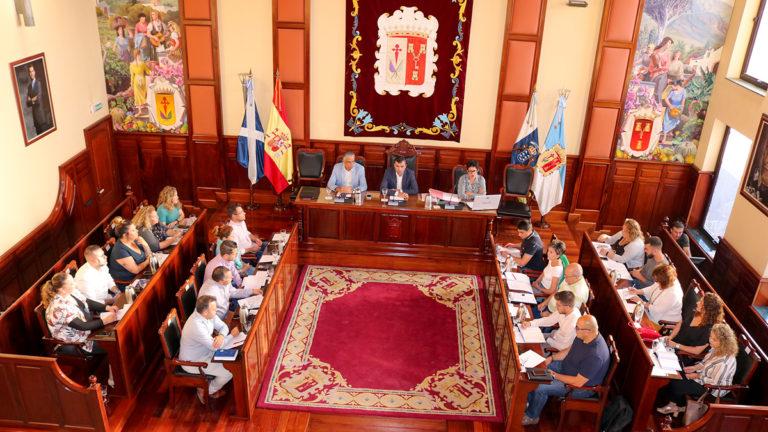Estos son los concejales que llevarán las áreas del Ayuntamiento de Los Realejos