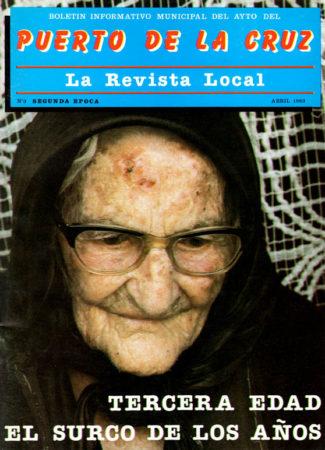 Portada del nº 3 de la Revista Local (1983) donde se publicó la relación de nombretes portuenses.