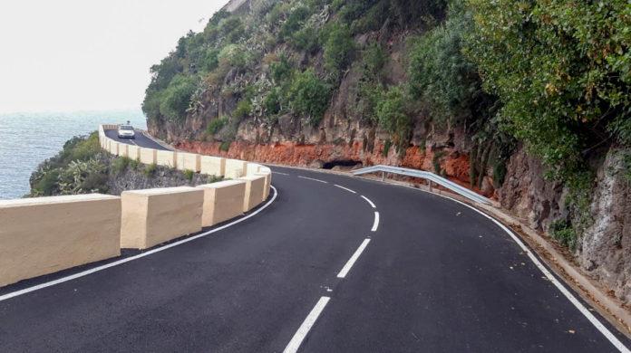Via TF-2214 en San Juan de La Rambla