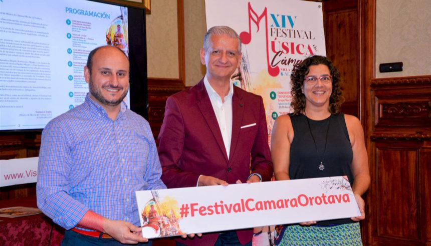Presentacion del Festival de Música de Cámara de La Orotava en 2019