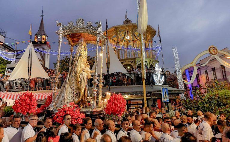 Los Realejos y Puerto de la Cruz se unieron ante la Virgen del Carmen realejera