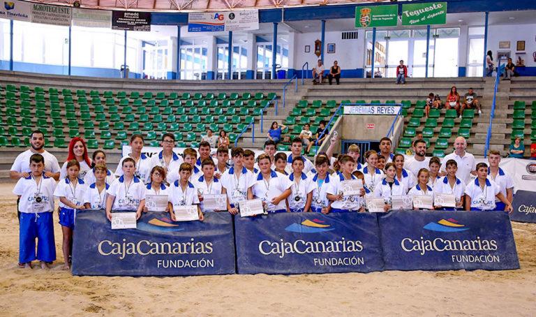 El X Campus de Lucha Canaria CajaCanarias se celebrará en el Puerto de la Cruz