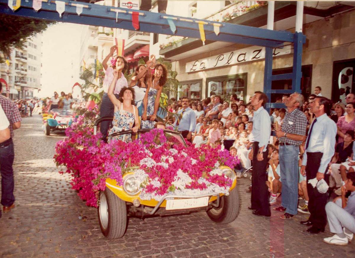 Fiestas de Julio - ultimo tercio del siglo XX