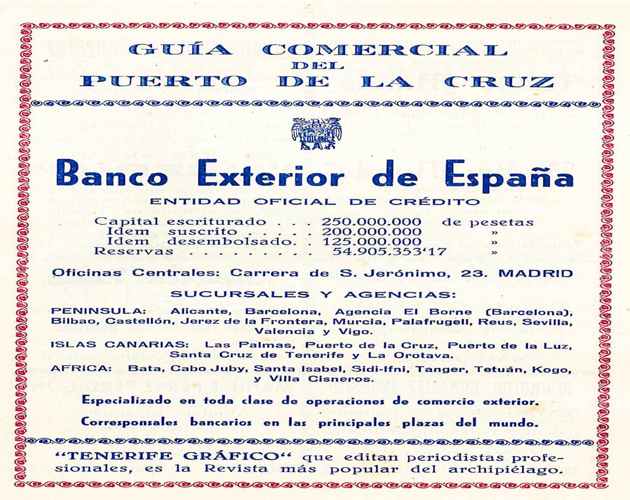 Guia Comercial del Programa de las Fiestas de Julio en 1950