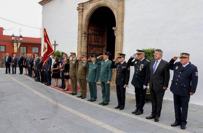 Imagen de archivo (2018) de la fundación de Los Realejos