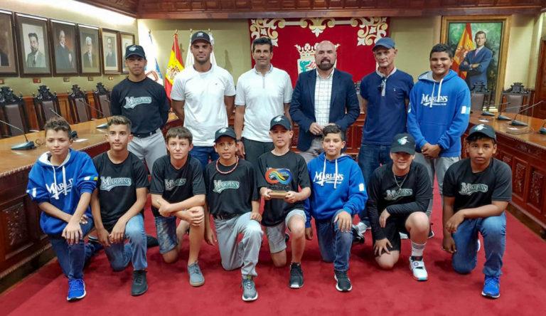 Reconocimiento a Tenerife Marlins sub-13 como campeón de España de béisbol