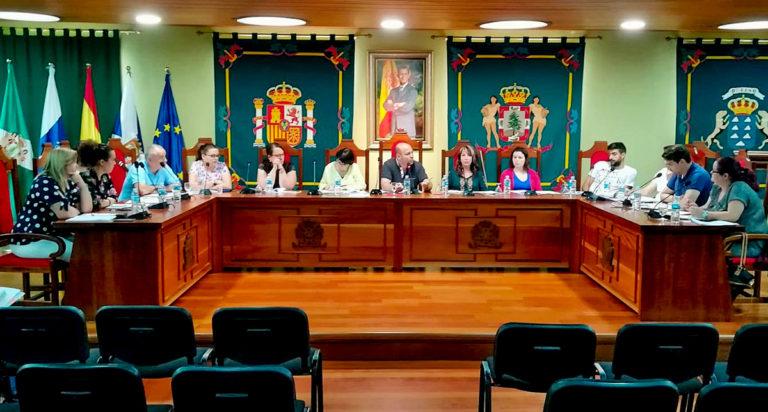 Este es el reparto de áreas y competencias en el Ayuntamiento de La Guancha