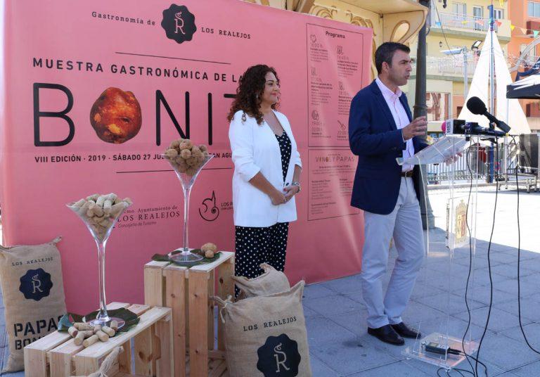 Este sábado en Los Realejos papas bonitas, vinos y música en las Fiestas del Carmen
