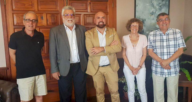 Encuentros con Los Marlins, Rotary Club e Instituto de Estudios Hispánicos
