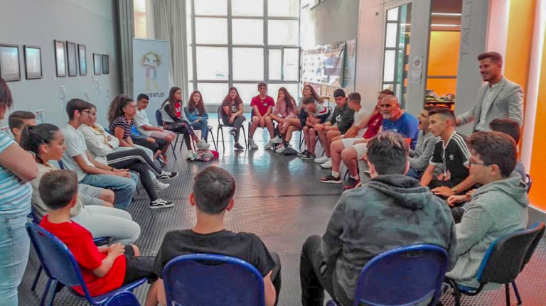 Comenzaron los talleres de verano 'Educación en valores' en Los Realejos