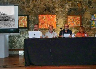 Un momento de la presentacion del libro Fotos Antiguas de Tenerife