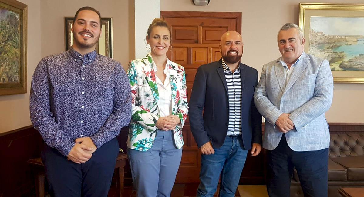 Visita del Director General del ICTE al Ayuntamiento