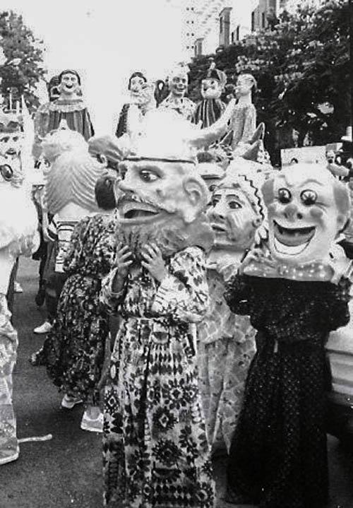 Cabezudos en 1991