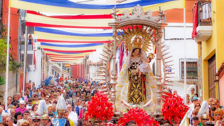 El lunes Los Realejos ofrecerá nuevamente su bastón de mando a la Virgen