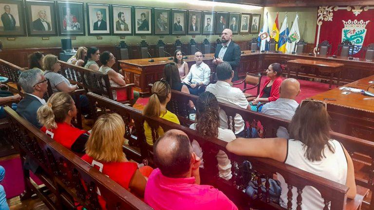 Reunión con representantes de las ONGs del Puerto de la Cruz