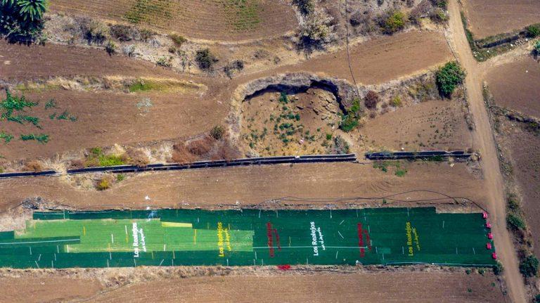 Se reacondiciona en Los Realejos la pista municipal de aterrizaje de parapente