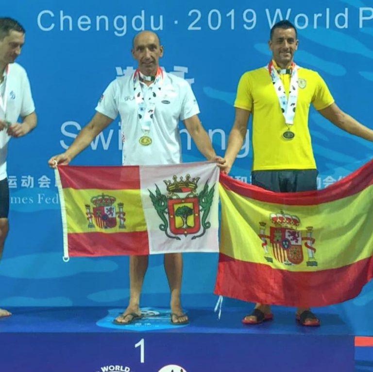 El policía orotavense José Báez consigue diez medallas en China