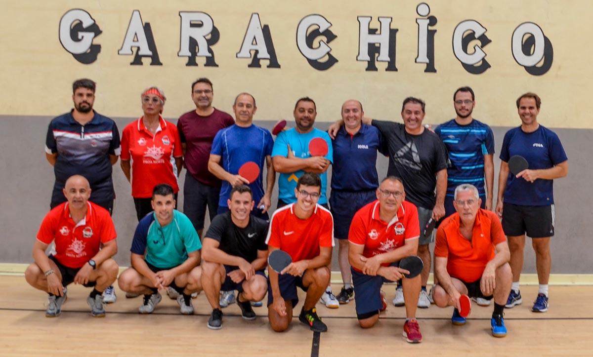 Participantes en el Torneo de las Fiestas de San Roque de Garachico