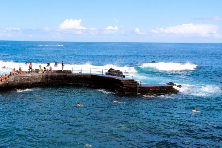 La playa de San Telmo reabierta para el baño