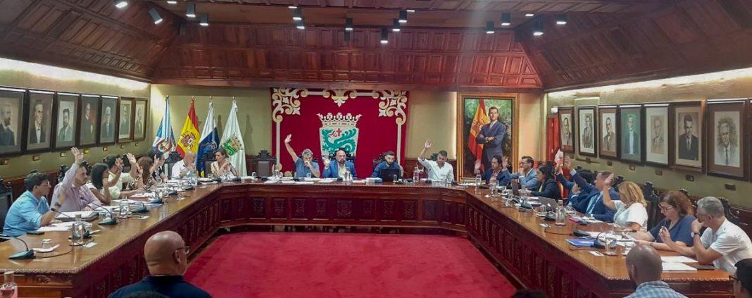 Foto del Pleno ordinario del mes de agosto 2019