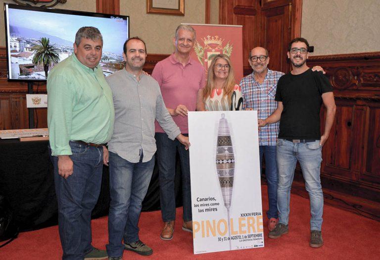 La 34 edición de la Feria de Pinolere estará dedicada a los cuchillos canarios