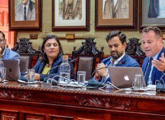Pedro González interviene en el Pleno ordinario de agosto
