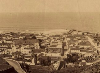 Puerto de la Cruz a finales del siglo XIX (Archivo de la FEDAC)