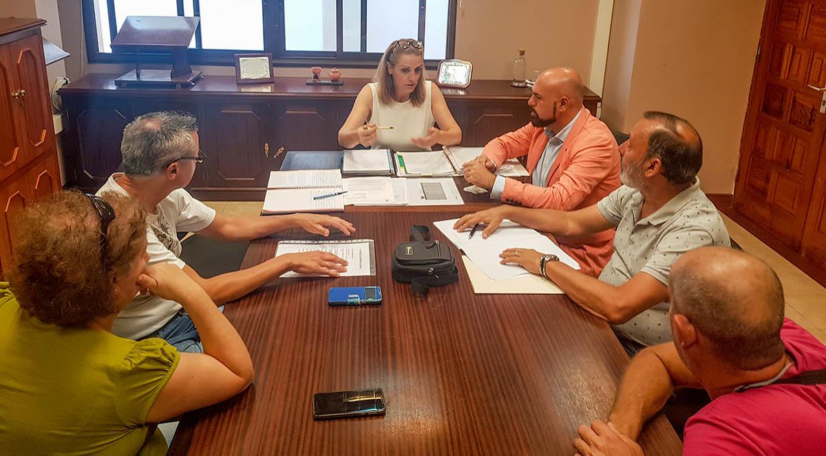 Reunión con Federación AAVV