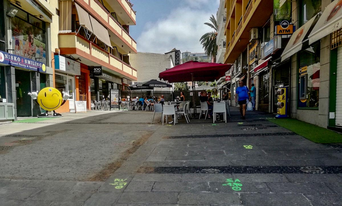 Tramo de la calle San Juan donde se actuará a partir de la próxima semana