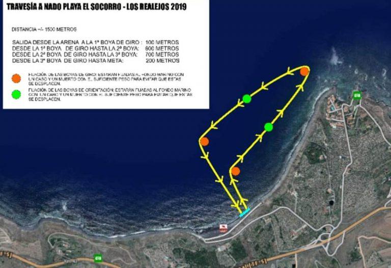 El 7 de septiembre se celebrará la Travesía a Nado Playa de El Socorro