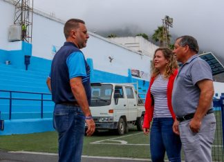 Visita estadio Los Príncipes