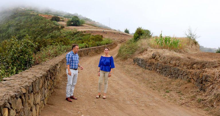 Se inicia la pavimentación del camino rural La Balona