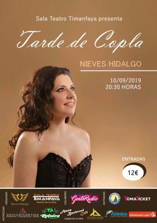 Cartel Nieves Hidalgo