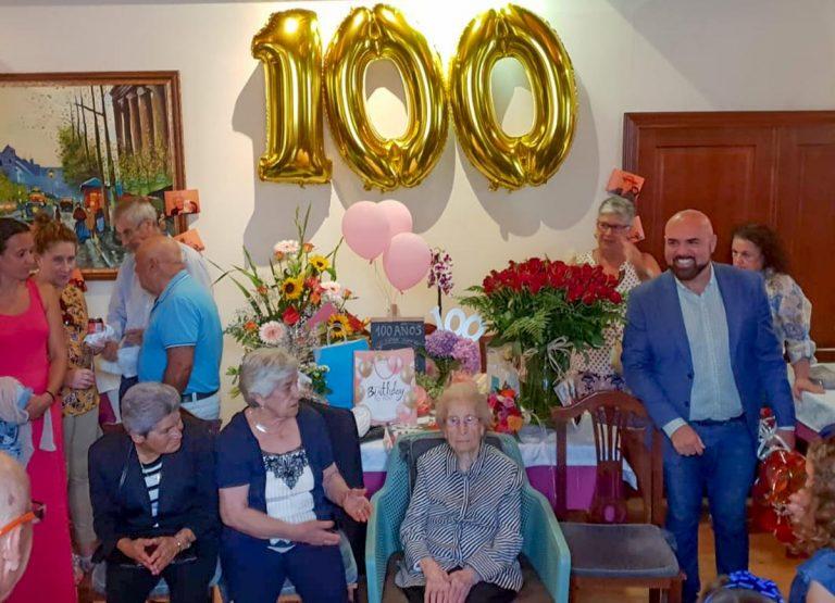 Doña Rosenda llega a los 100 años de vida