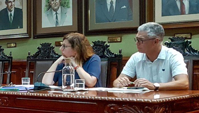 Imagen de archivo del grupo municipal de Coalicion Canaria