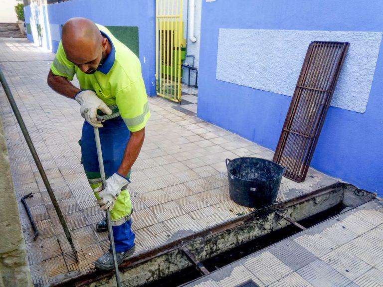 El Ayuntamiento informa de la limpieza de los imbornales y red de pluviales