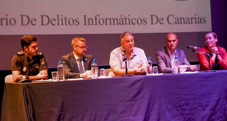 Presentada la labor del Observatorio de Delitos Informáticos de Canarias