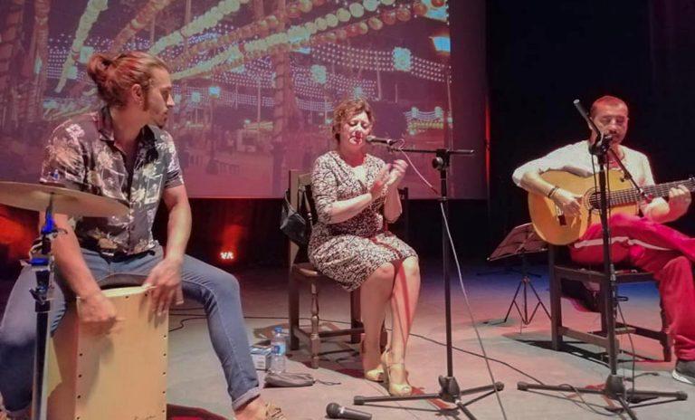 La cantante Nieves Hidalgo actuará este martes en la Sala Timanfaya