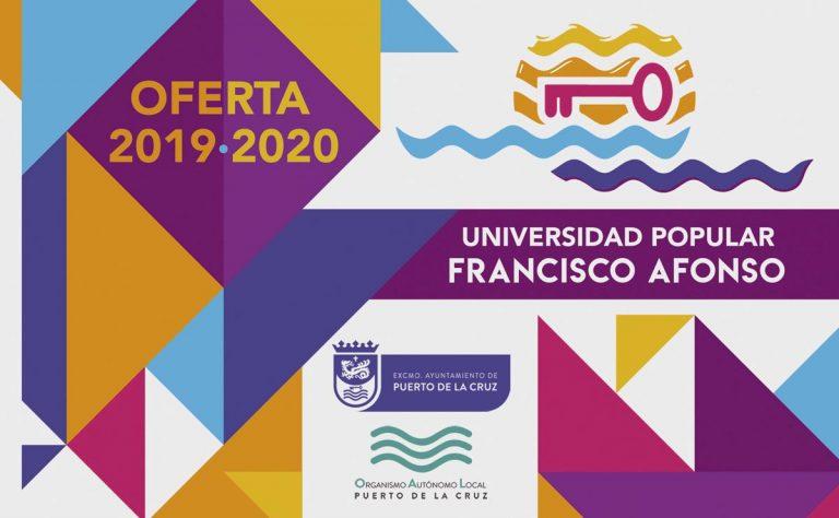 Se abre el nuevo curso de la Universidad Popular Francisco Afonso