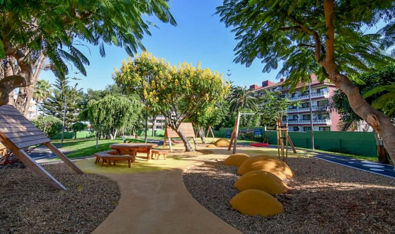 Desde el Cabildo se estudia delimitar el Parque inclusivo 'El Laurel'