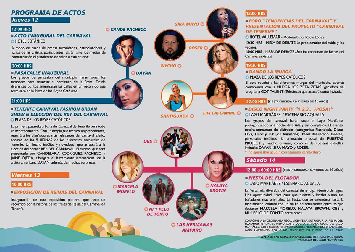 Programa Carnaval de Verano 2019 - 1