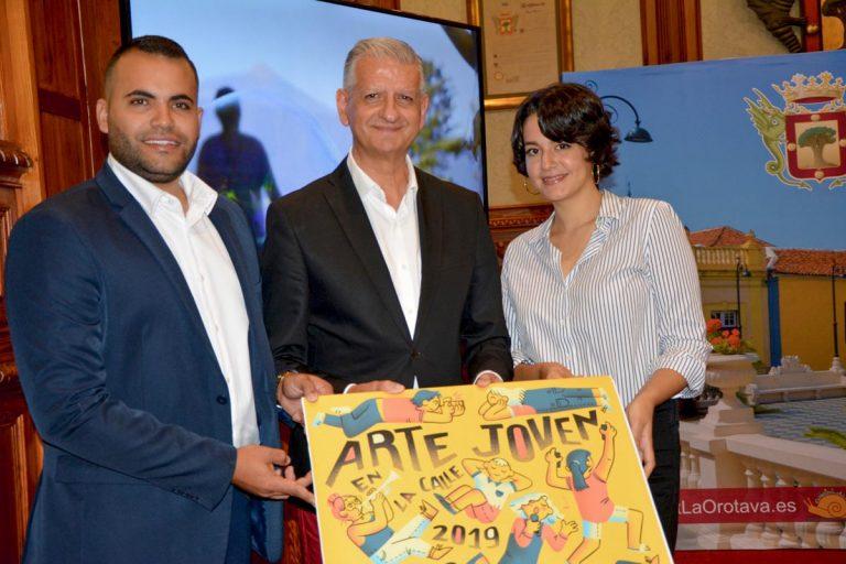 Este domingo en La Orotava 'Arte Joven en la Calle'