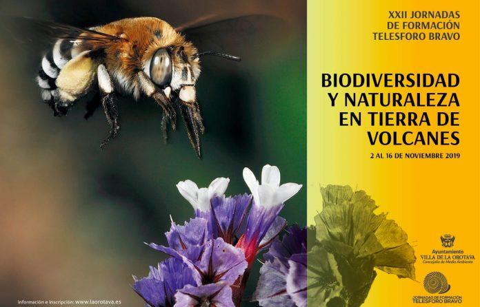 CARTEL jornadas de biodiversidad en la orotava