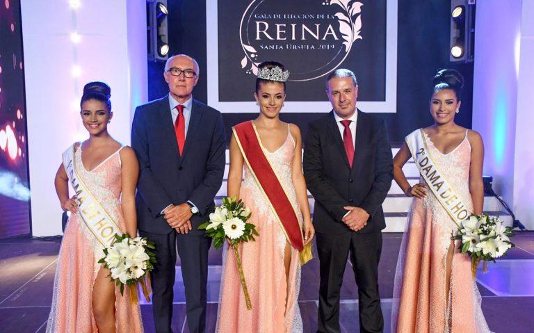 Elegida Melania Figueroa como Reina de las Fiestas de Octubre de Santa Úrsula