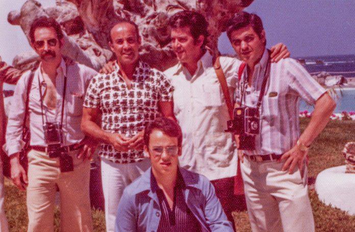 Enrique Serrano junto a César Manrique
