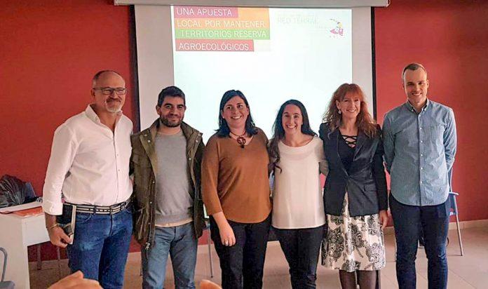 Juan Siverio junto al resto de nueva junta directiva de la Red Terrae