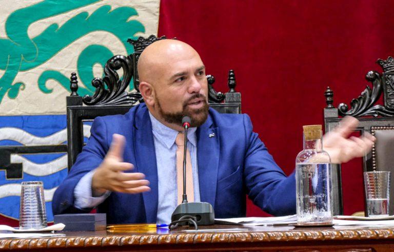 Marco González considera inmoral lo señalado por el PP sobre el proyecto de Playa de Martiánez