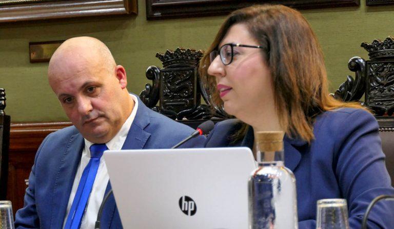 """Sandra Rodríguez considera que """"Marco González está impedido por la disciplina de su partido para ser el Alcalde de todos los portuenses"""""""