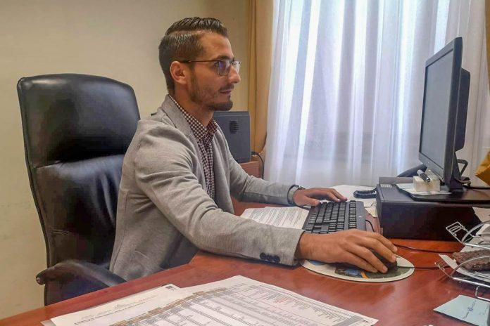 Darío Pérez concejal de Hacienda